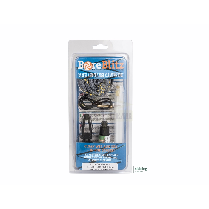 """9,0-9,2 mm .363/"""" .354/"""" Bore Blitz  Barrel and Chamber Cleaning Tool  Cal"""