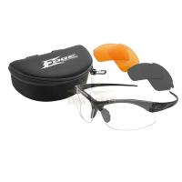 Edge Tactical Sharp Edge TT Vapor Shield ballistiskās aizsargbrilles, kompl. G-15/ Tigers Eye/ Clear