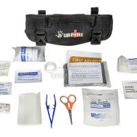 12 Survivors Mini First Aid Rollup Kit, pirmās palīdzības komplekts