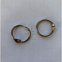 Кольца Степлер, 15 мм, Нержавеющая сталь, 2 шт.